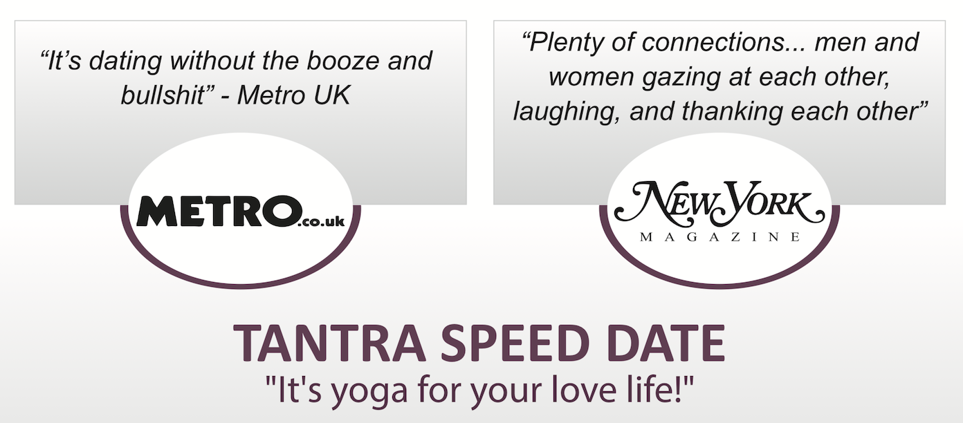 Tantra Speed Date press